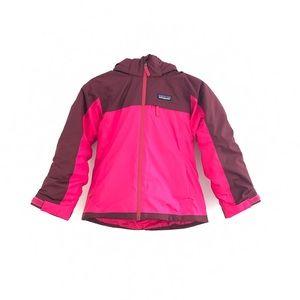 Patagonia Colorblock Down Hooded Coat